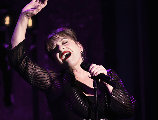 Patti Lupone performing Woulda , Coulda, Shoulda at 54 Below on July 22, 2013.   Photo credit ; Rahav iggy Segev / Photopass.com