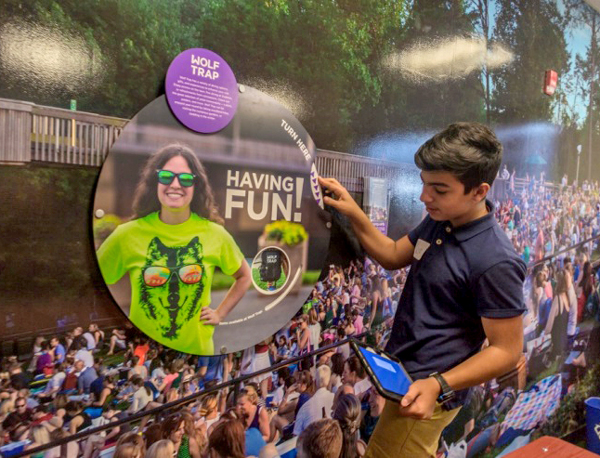 Wolf Trap Makes Good Cents for Fairfax County 8th Graders
