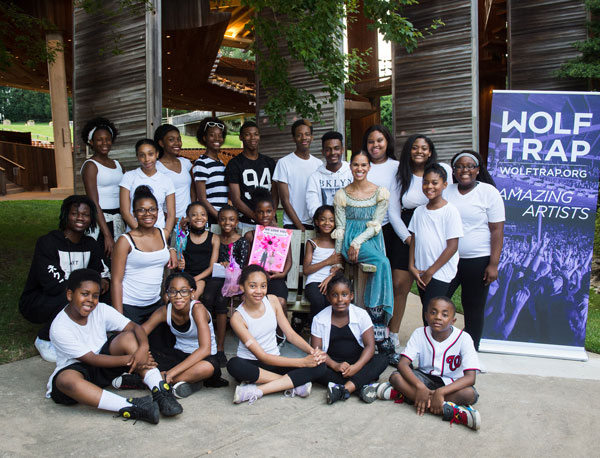 Misty Copeland and Turnaround Arts Kids